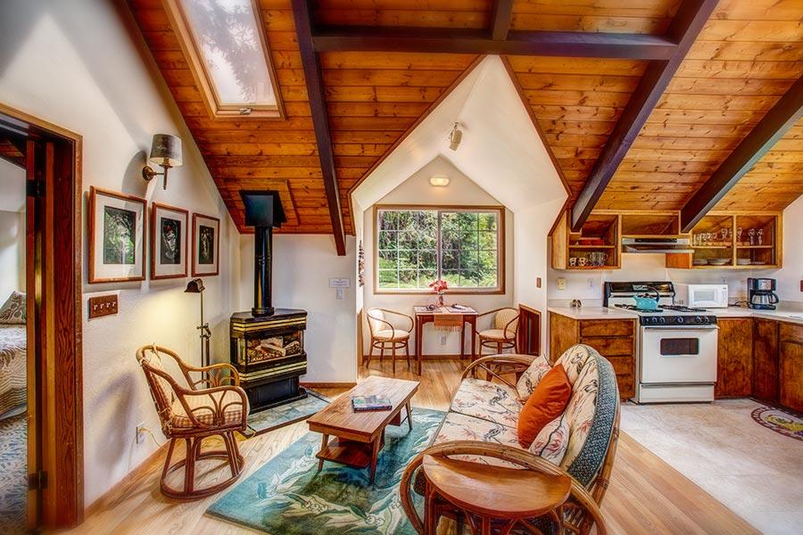 Hideaway living room