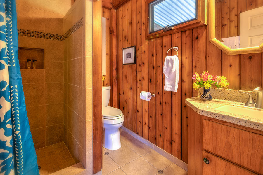 Pi'i Mauna House bathroom