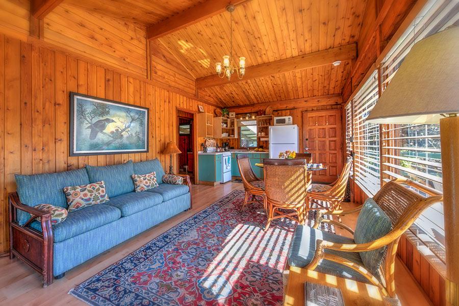 Pi'i Mauna House great room